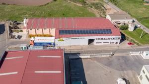 Instalación solar en la empresa Frutas y Verduras del País