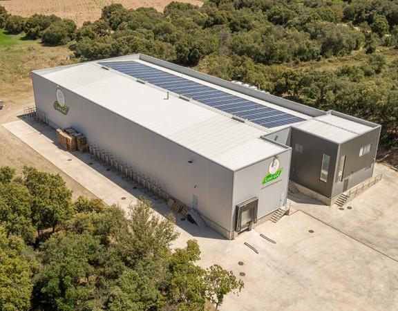 Instalación solar en la empresa Luis Gil