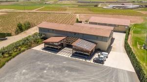 Instalación solar en la bodega Viñedos Ruiz