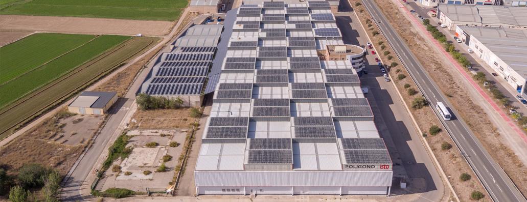 Nuevas instalaciones solares fotovoltaicas de autoconsumo ubicadas en Aragón