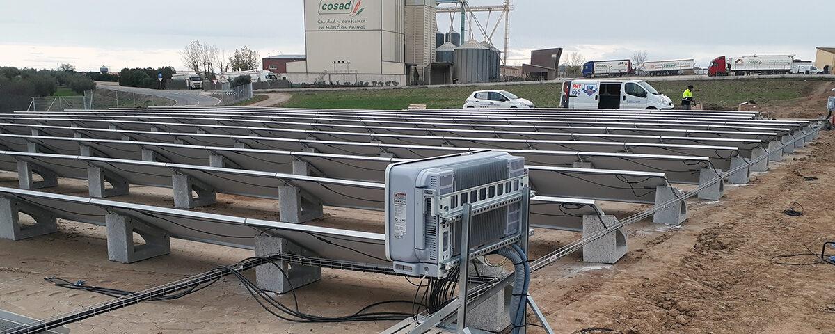 Instalación solar fotovoltaica de autoconsumo en Sociedad Cooperativa de Santo Domingo
