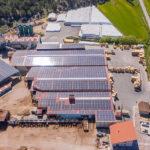 Instalación solar fotovoltaica de autoconsumo en la industria maderera Burpellet
